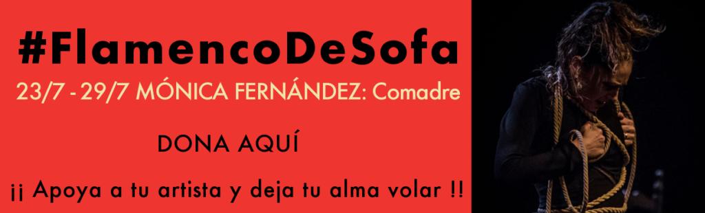 Mónica Fernández 'Comadre' #flamencodesofá