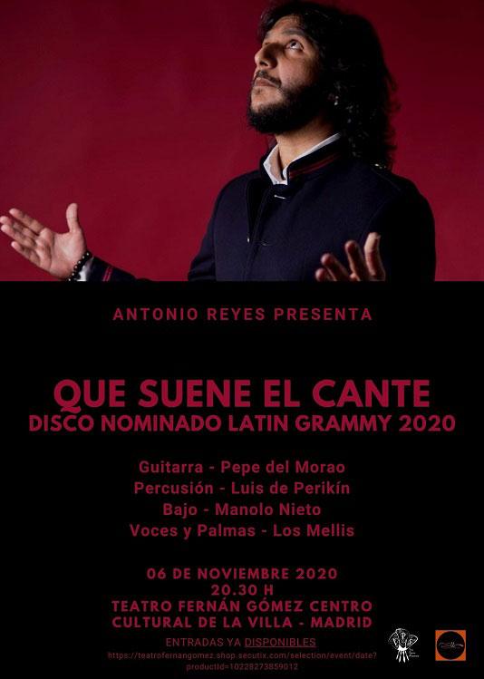 Antonio Reyes - Que suene el cante