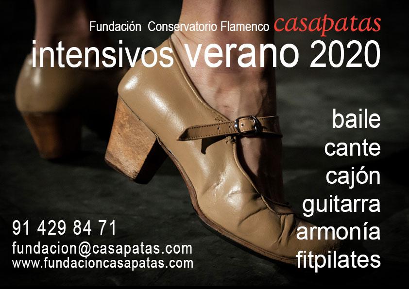 Intensivos Flamenco Casa Patas