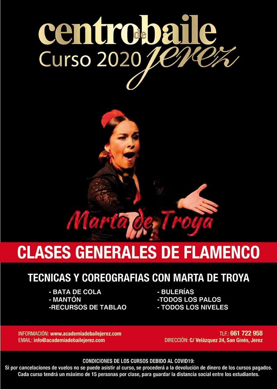 Clases con Marta de Troya - Jerez
