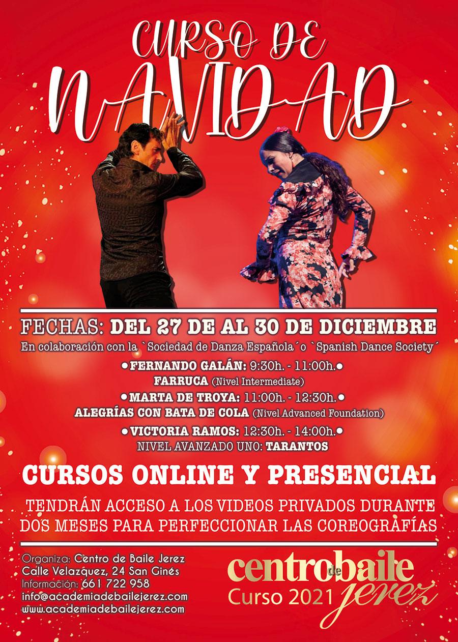 Cursos flamencos de Navidad - Jerez