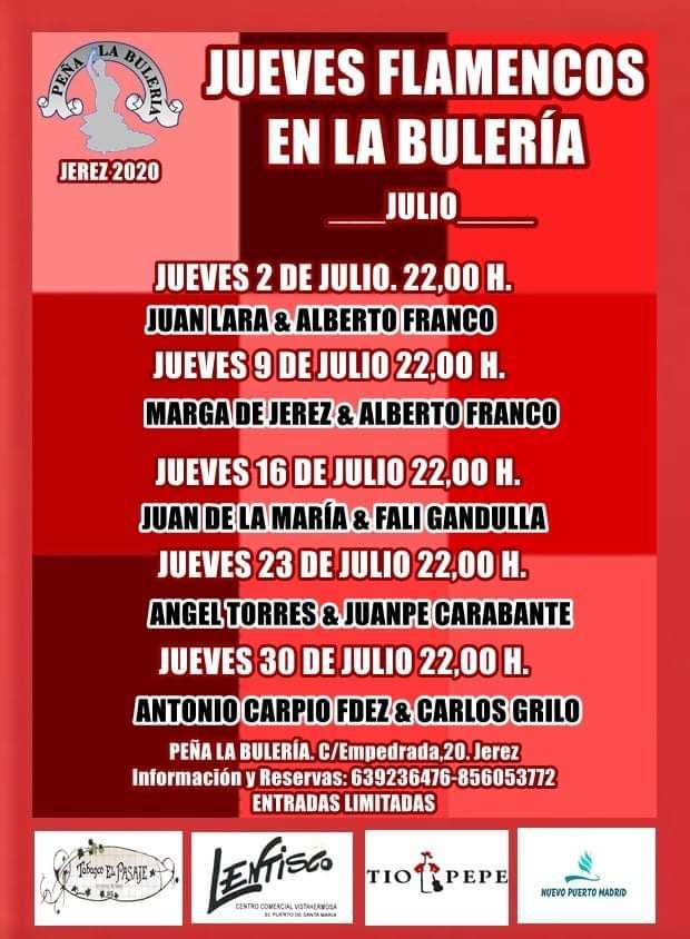 Jueves Flamencos Peña la Buleria