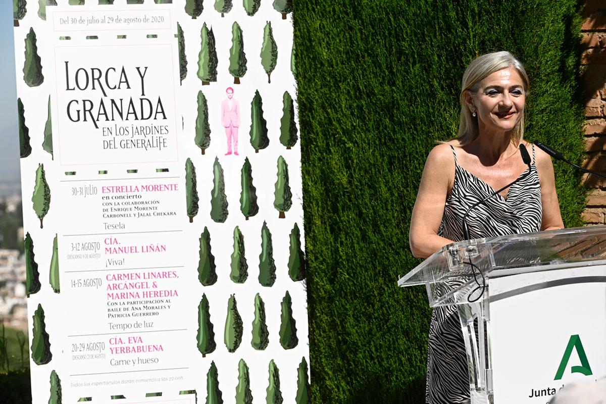 'Lorca y Granada' con Estrella Morente, Manuel Liñán, Marina Heredia, Carmen Linares, Arcángel y Eva Yerbabuena