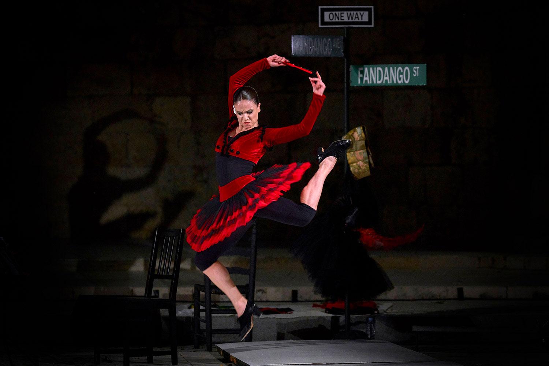 """Sara Calero estrena """"Fandango Avenue"""" en Madrid en Danza"""