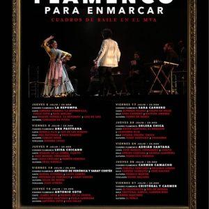 Flamenco para enmarcar