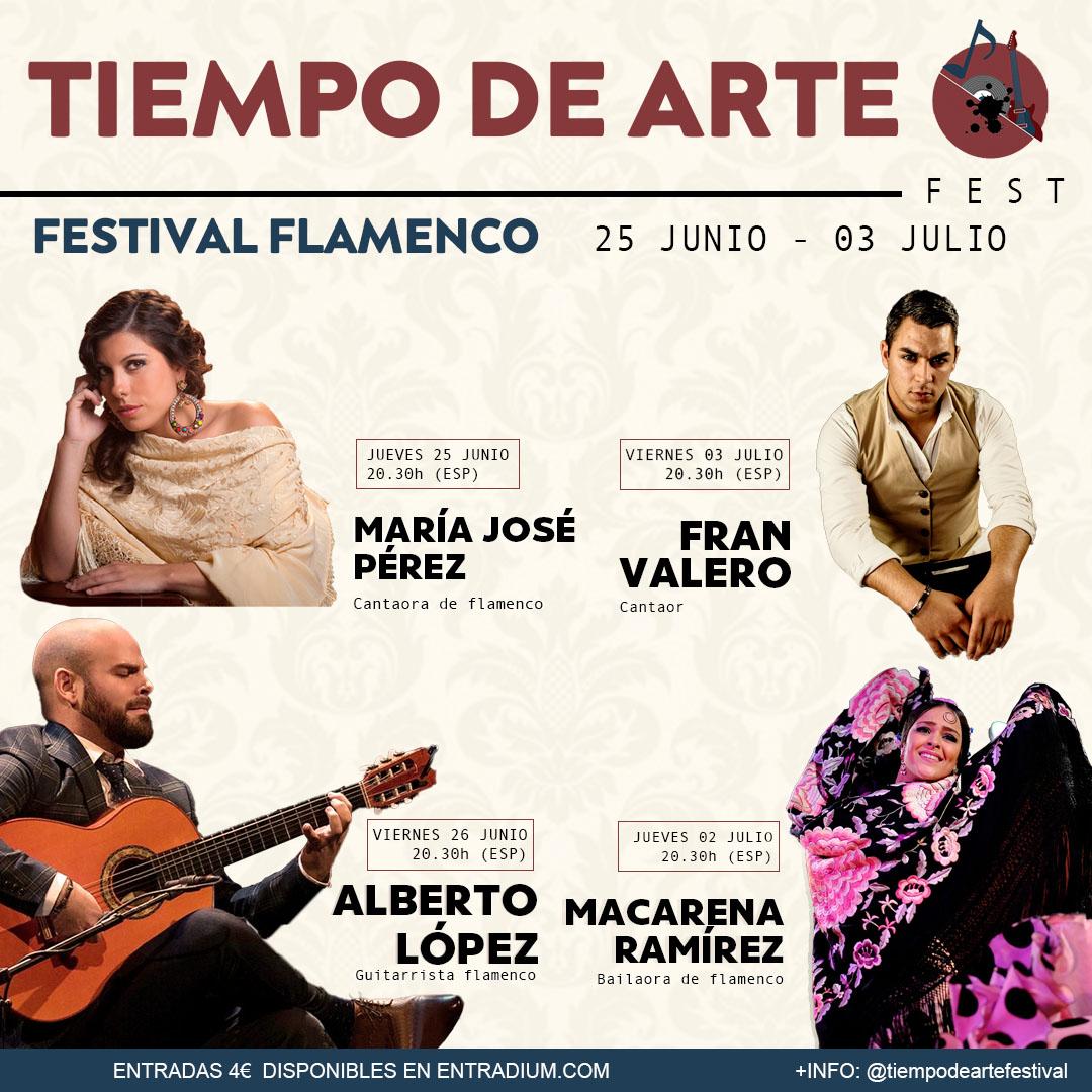 Tiempo de arte - festival flamenco