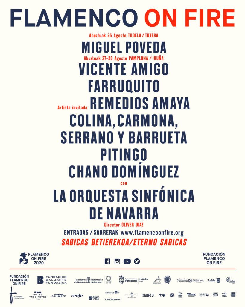 Ciclo Grandes Conciertos Flamenco on Fire 2020