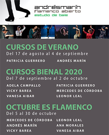 Intensivos Flamenco - Estudio Andrés Marín