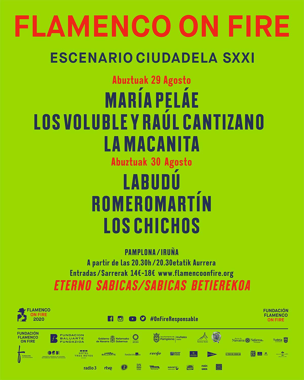 Flamenco on Fire - Escenario Ciudadela