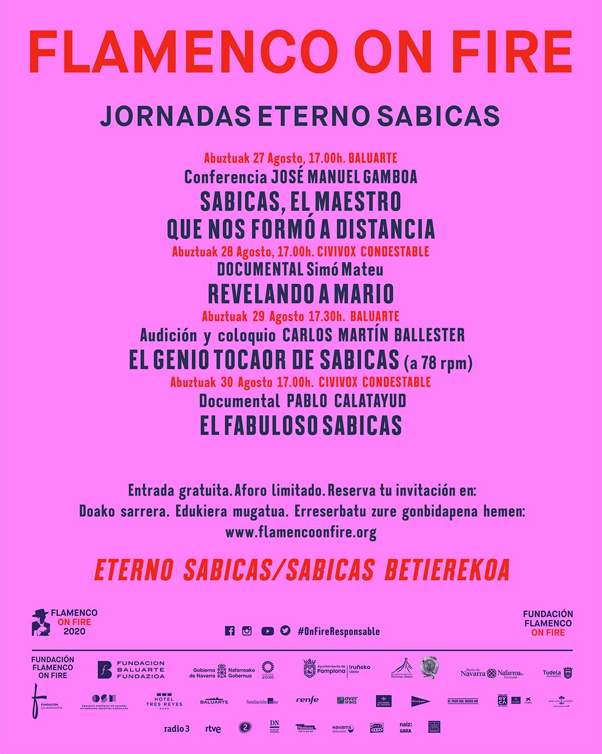 Jornadas Eterno Sábicas - Flamenco on Fire 2020