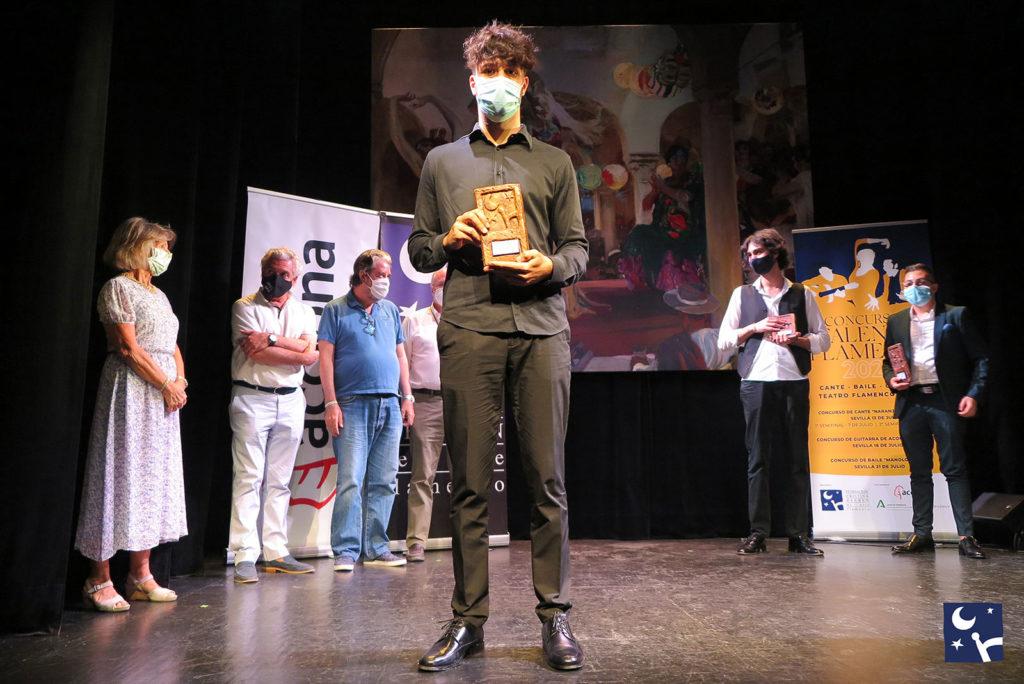 Talento Flamenco - Final Guitarra Acompañamiento - 1º premio Manuel Herrera