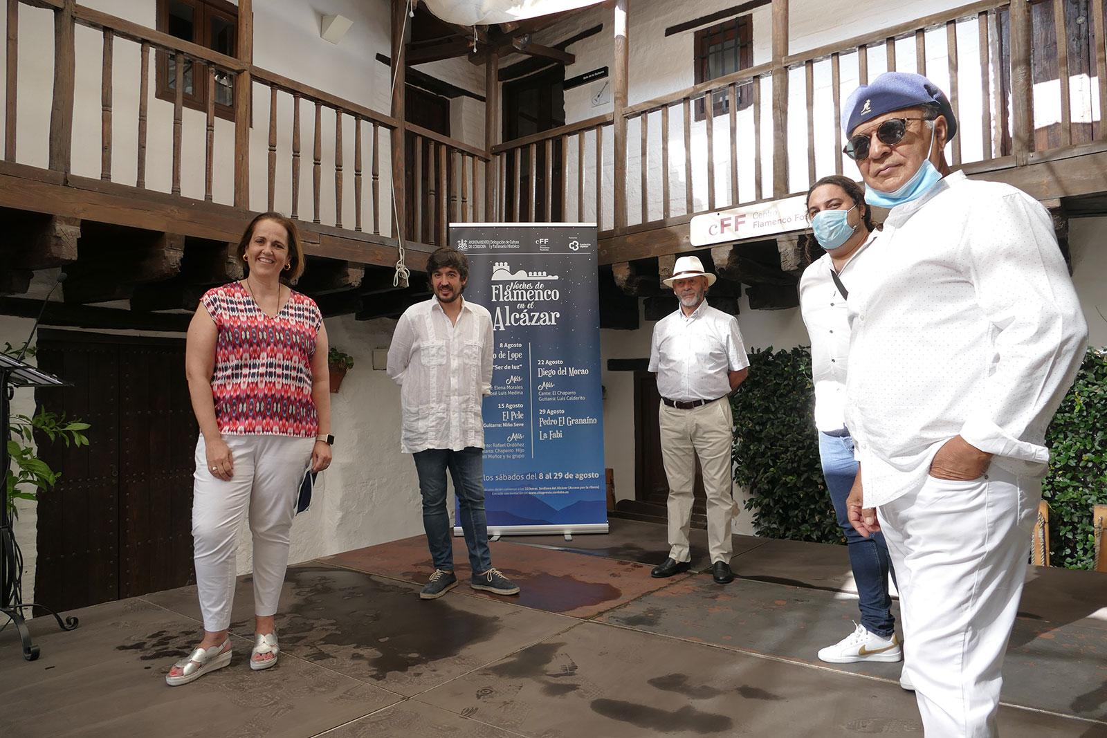 El flamenco vuelve a los Jardines del Alcázar de Córdoba en las noches de agosto