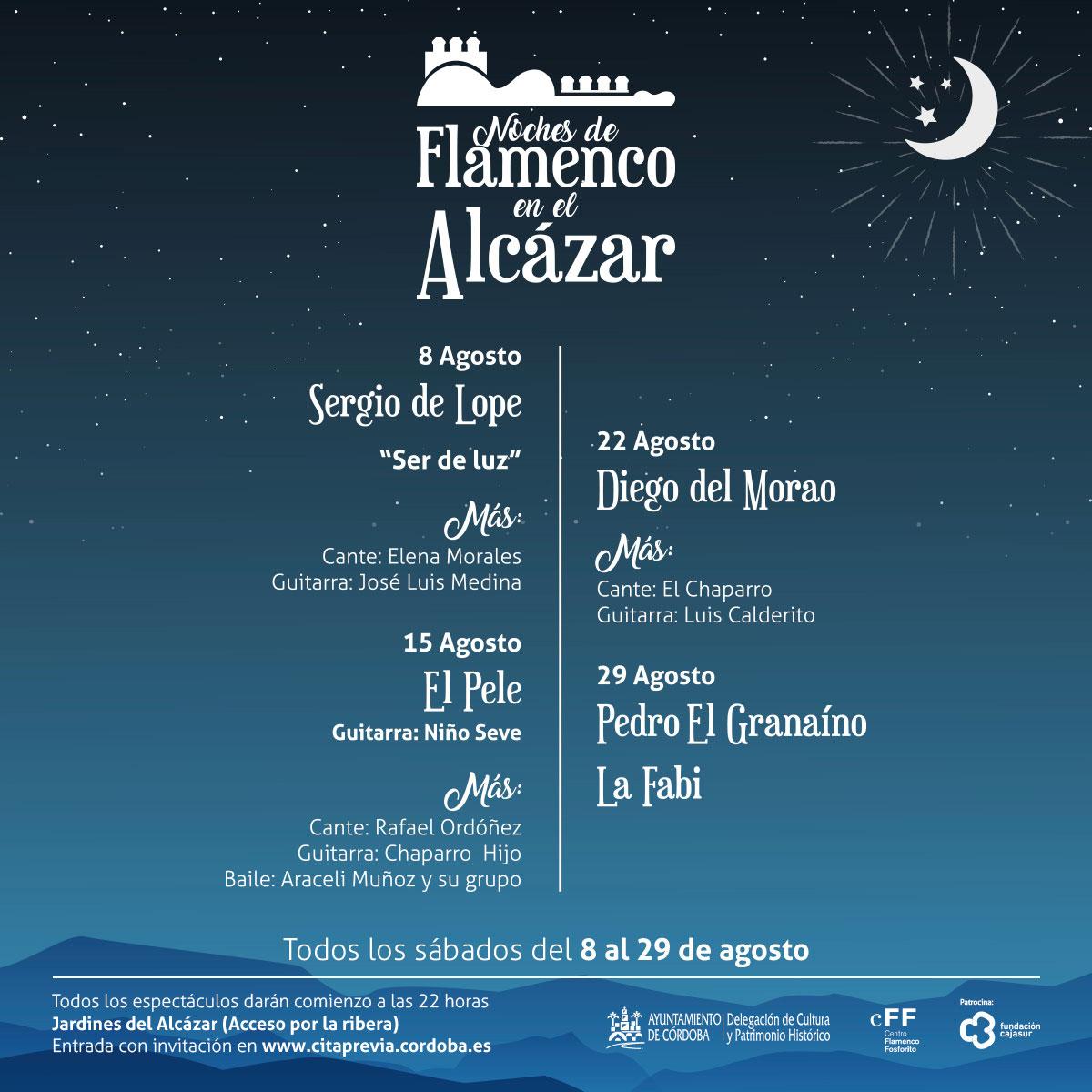 Flamenco en los Jardines del Alcázar