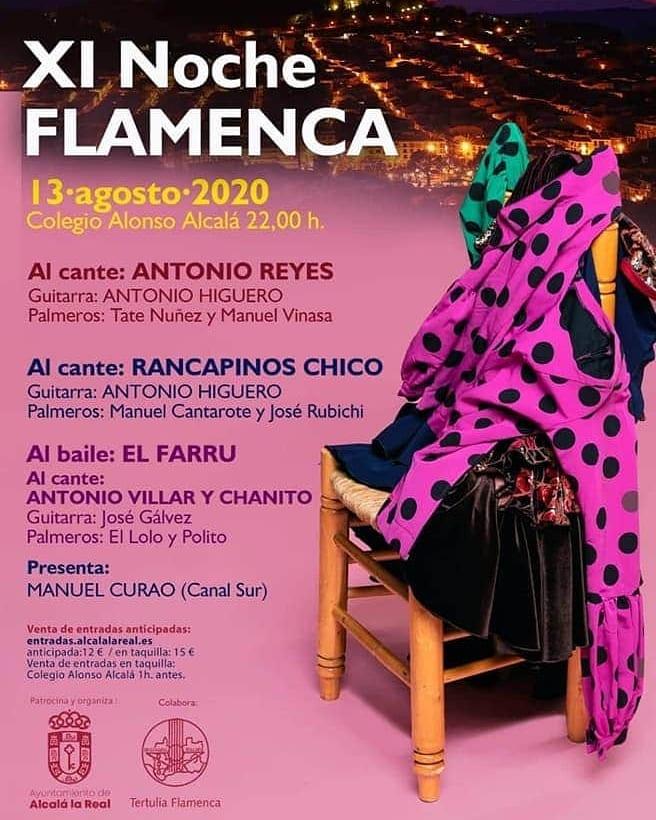 Noche Flamenca Alcalá la Real - Jaén