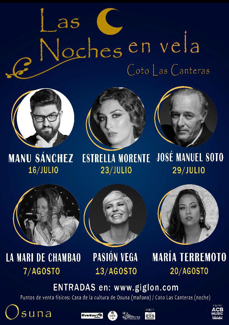 Estrella Morente y María Terremoto en 'LAS NOCHES EN VELA'