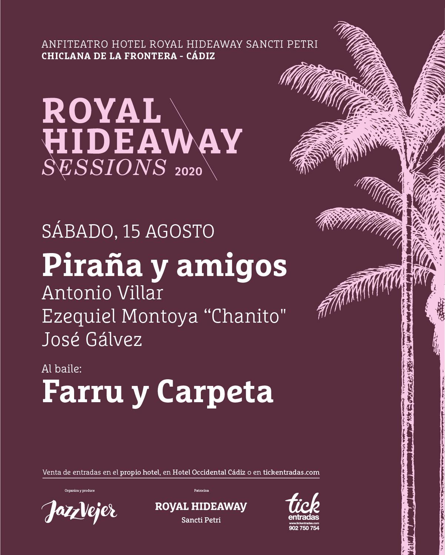 Piraña y amigos - Farru y Carpeta - Royal Hideaway Sessions
