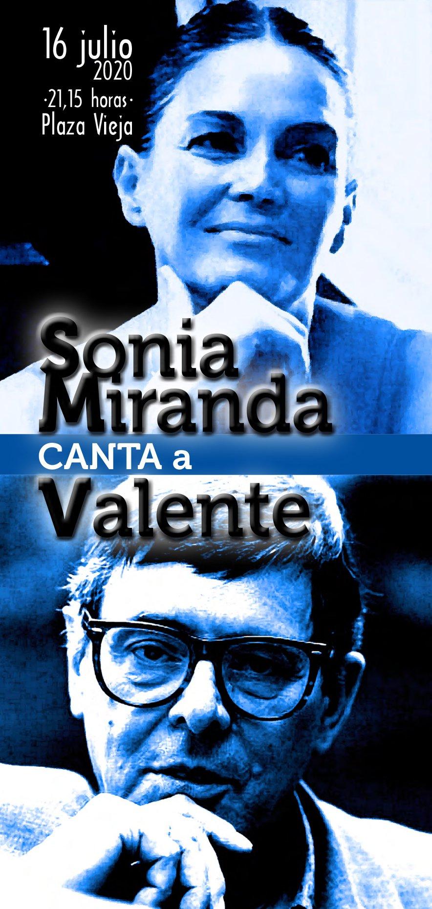Sonia Miranda canta a Valente