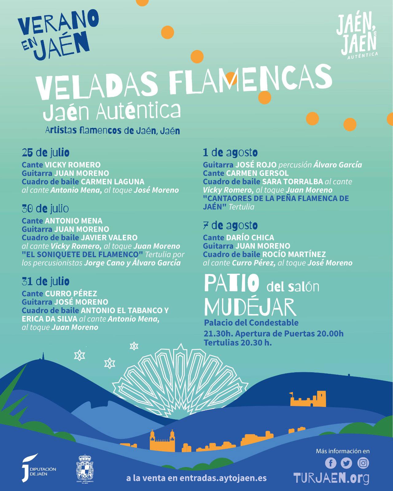 Veladas Flamencas Jaén Auténtica