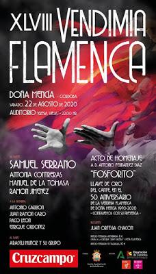 Vendimia Flamenca - Doña Mencía - Córdoba