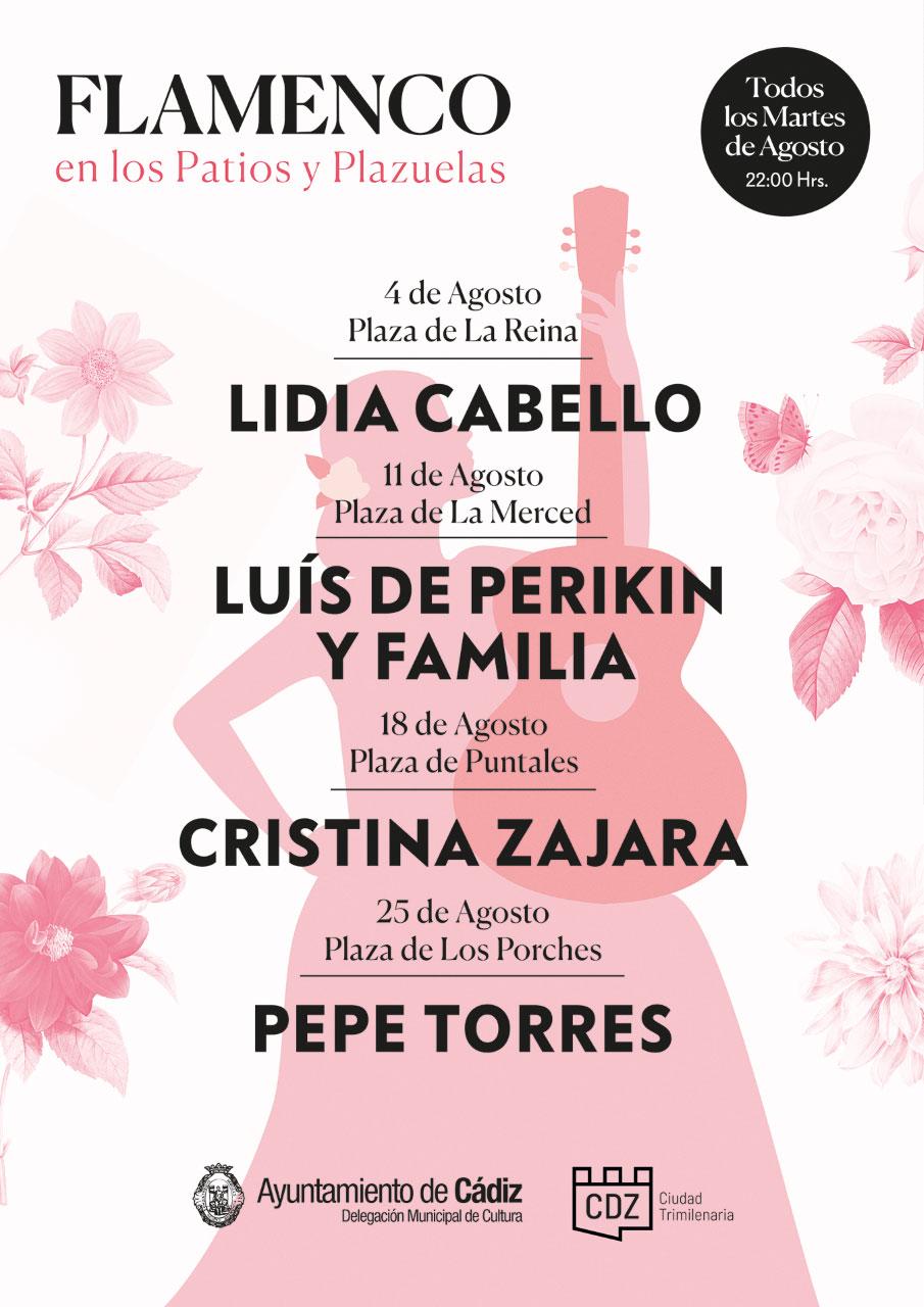 Flamenco en los Patios y Plazuelas - Cádiz