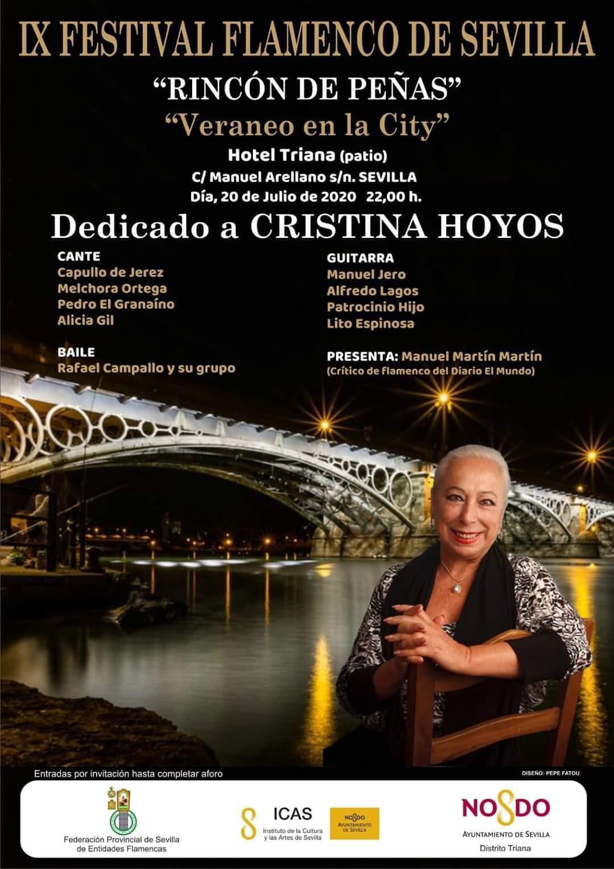 Festival Flamenco de Sevilla dedicado a Cristina Hoyos