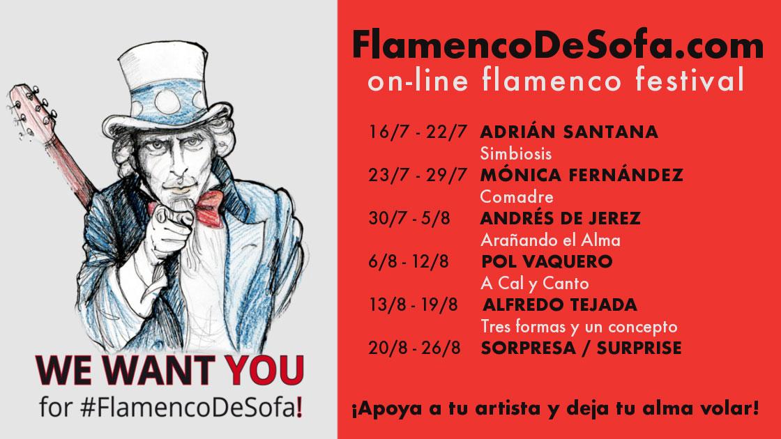 FlamencoDeSofá - agosto 2020
