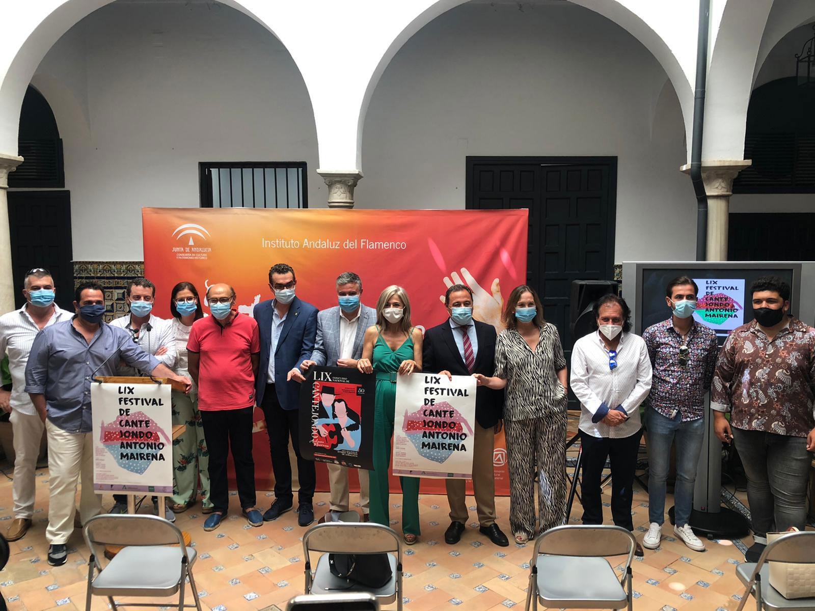 El LIX FESTIVAL DE CANTE JONDO ANTONIO MAIRENA con quejíos maireneros