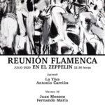 Reunión flamenca en Zeppelin