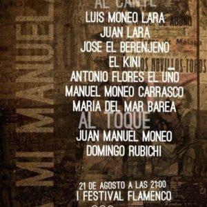 Festival Flamenco A mi Manuela