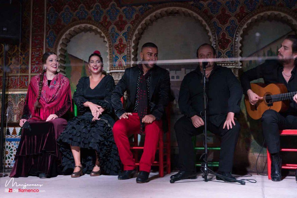 Flamenco de metacrilato - Torres Bermejas