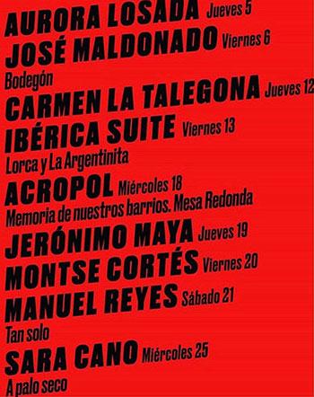 Miradas Flamenkas - Centro Cultural Pilar Miró