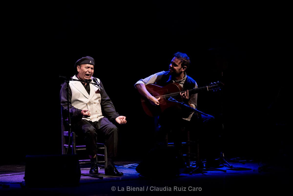 El Pele & Dani de Morón - La Bienal - foto: Claudia Ruiz Caro