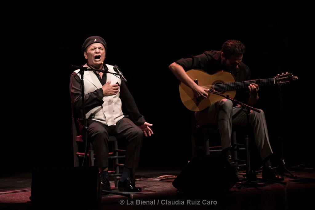 El Pele & Diego del Morao - La Bienal - foto: Claudia Ruiz Caro