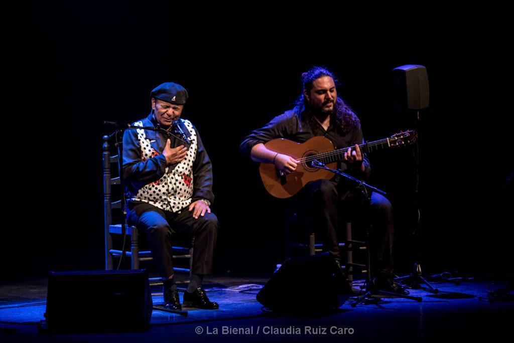 El Pele & Niño Seve - La Bienal - foto: Claudia Ruiz Caro