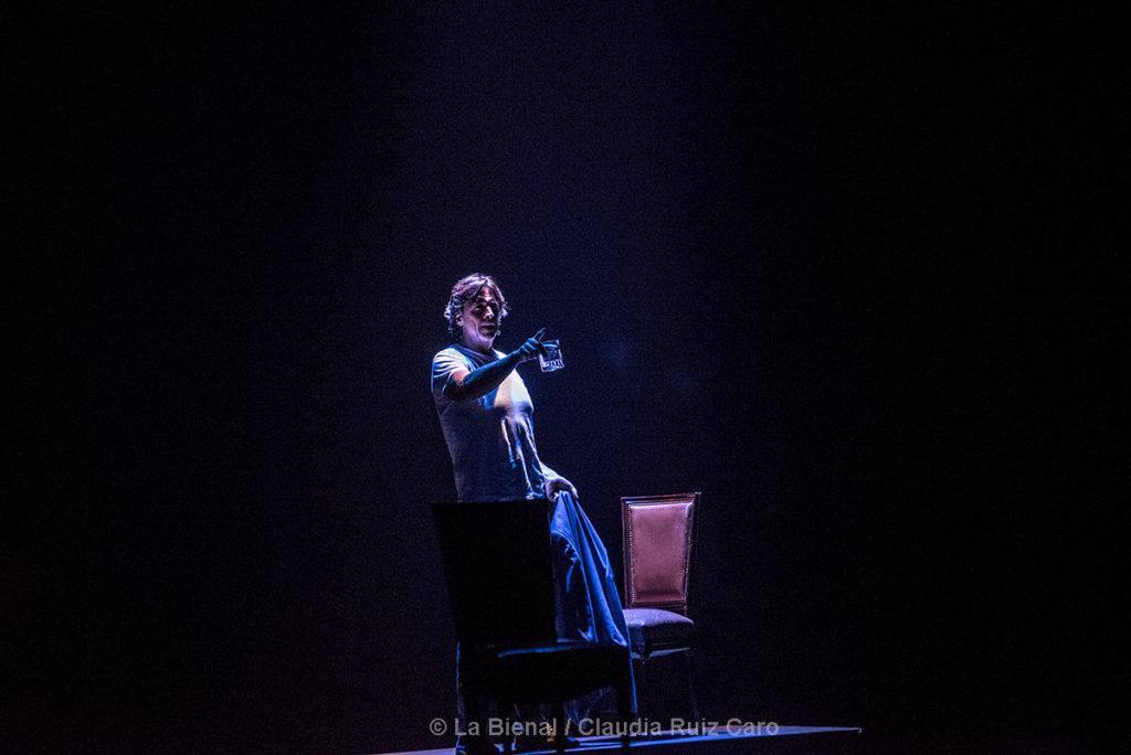 José Valencia / La Bienal - foto: Claudia Ruiz Caro