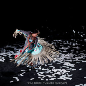La Lupi - La Bienal - foto-Claudia Ruiz Caro