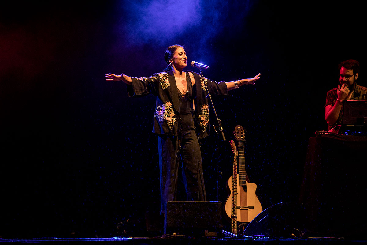 María Peláe «La Niña» en Flamenco on Fire
