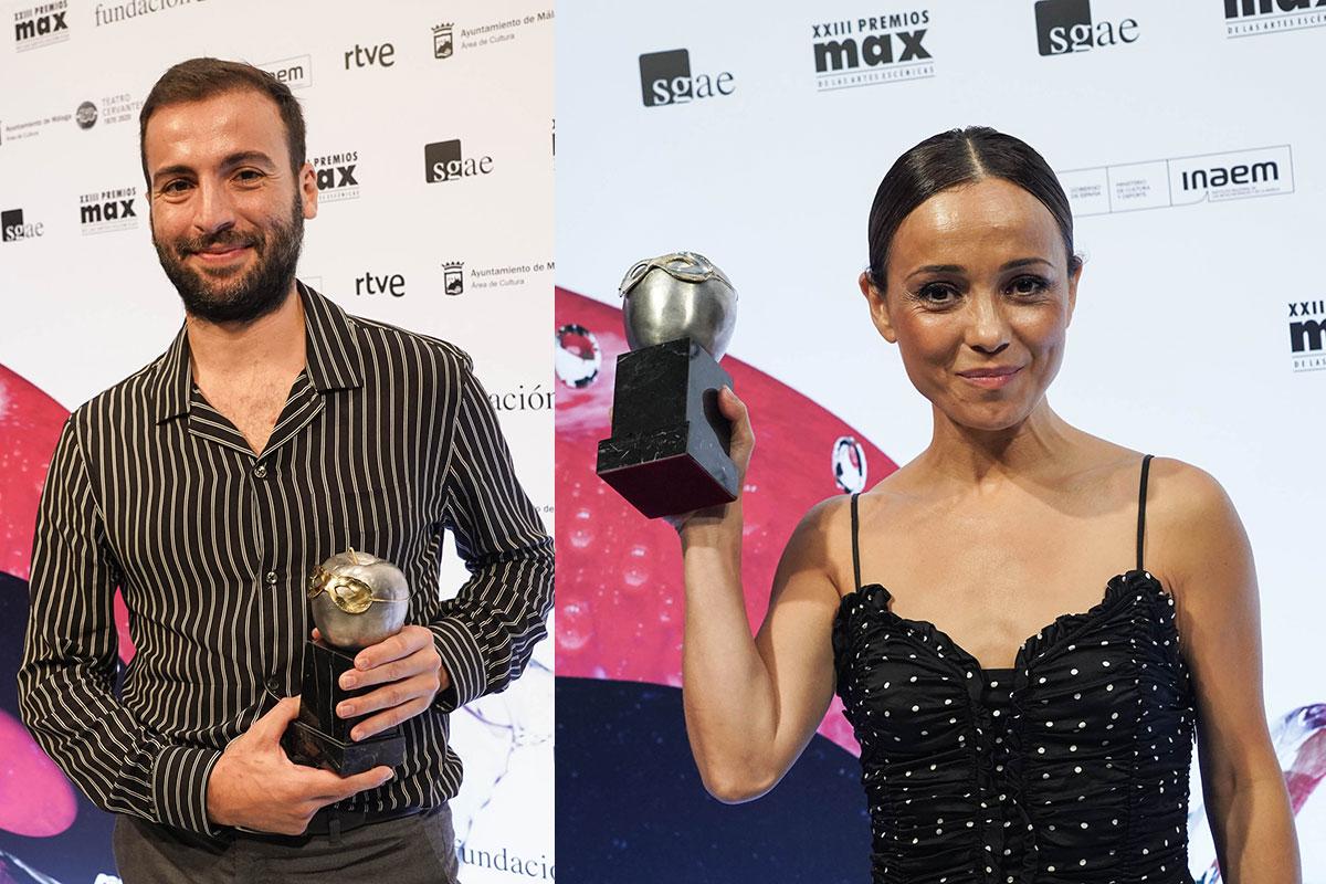 Manuel Liñán, Olga Pericet y Marco Flores premiados en los Max 2020