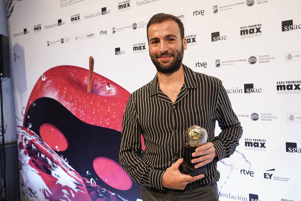 Marco Flores, premio Max 2020