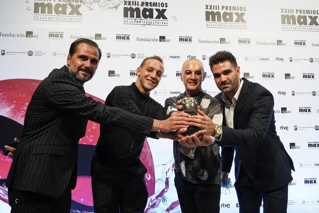 Manuel Liñán, premio Max del público por '¡Viva!'
