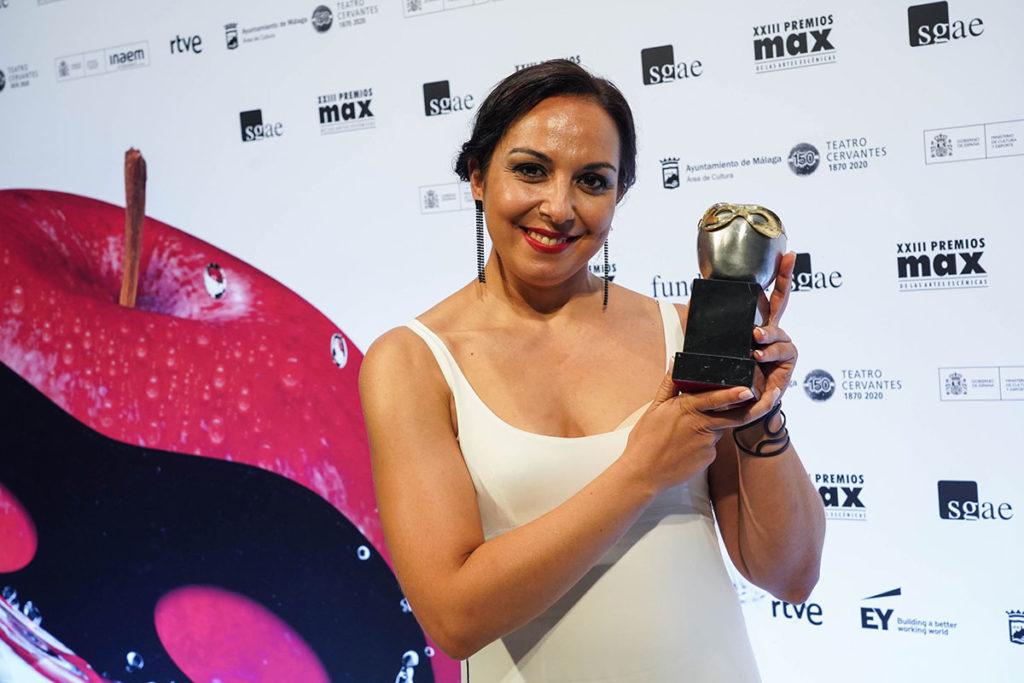 Sara Cano, premio Max mejor coreografía