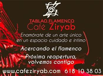 Café Ziryab - reapertura 23 octubre