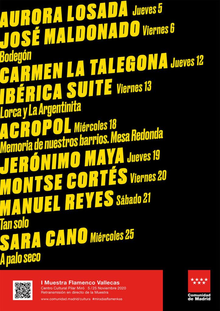 MIradas Flamenkas - Cartel