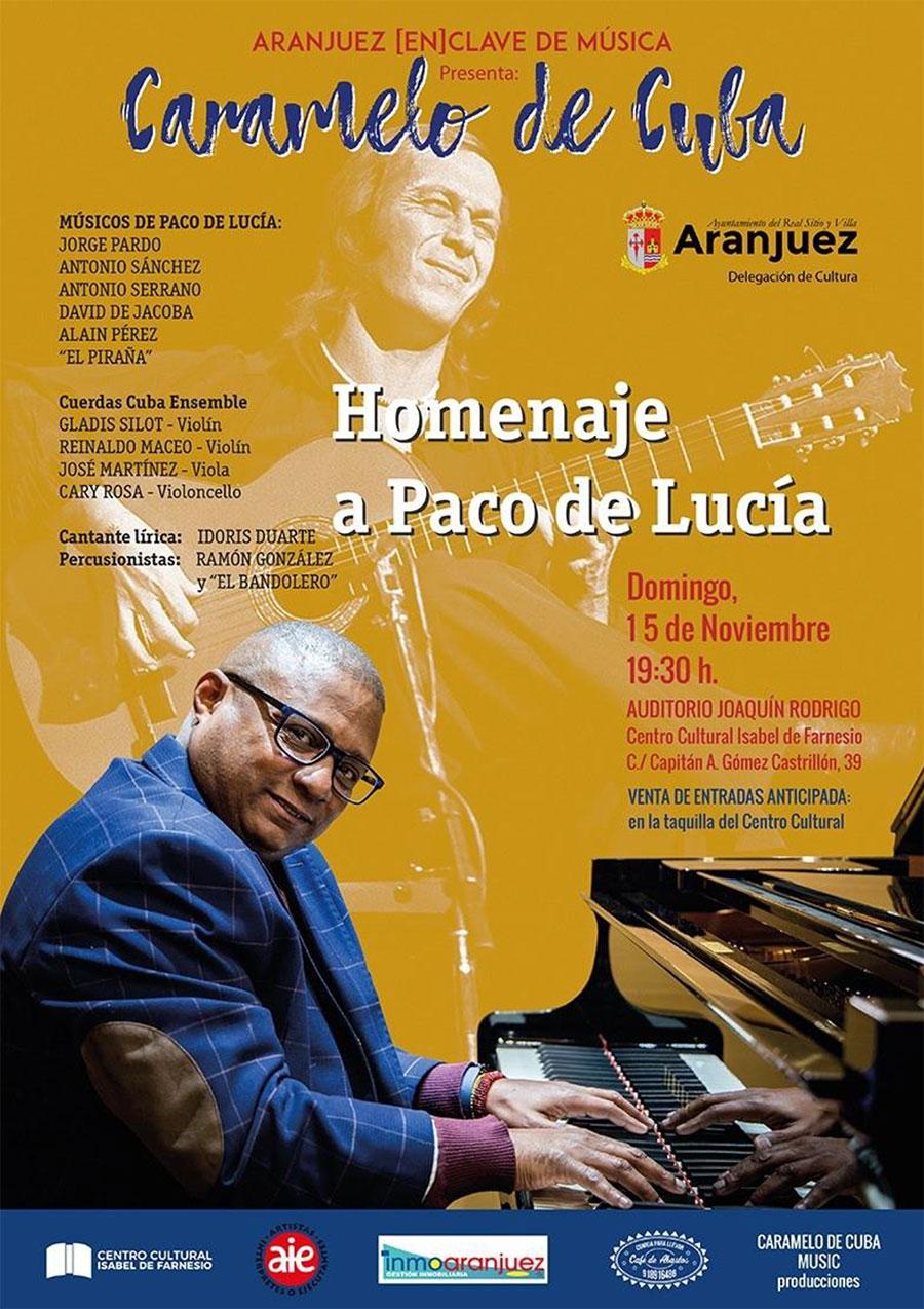Caramelo de Cuba - Homenaje a Paco de Lucía