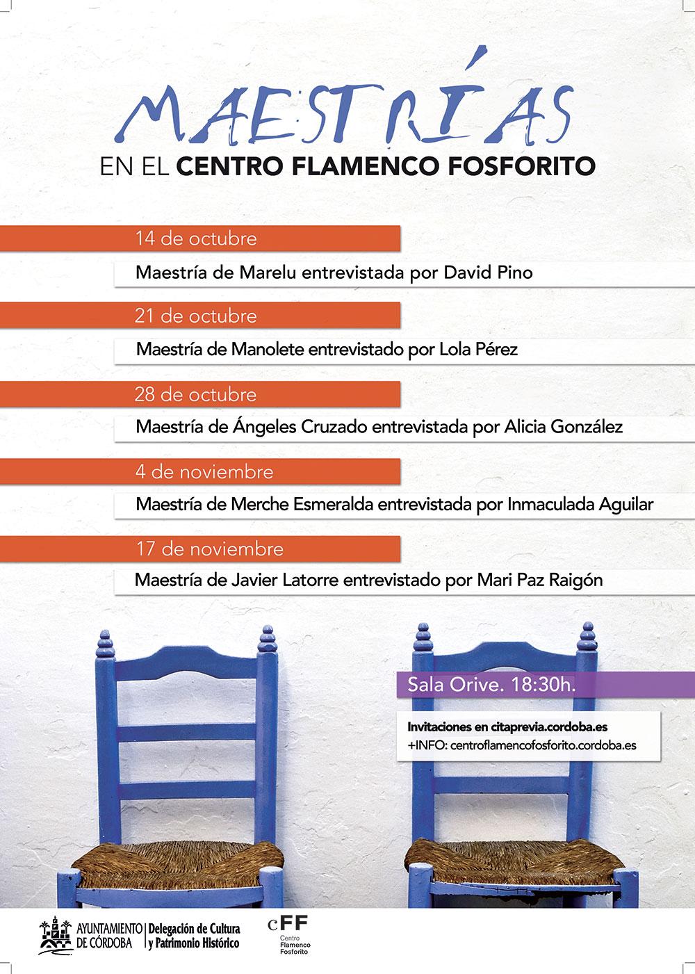 Maestría - Centro Flamenco Fosforito