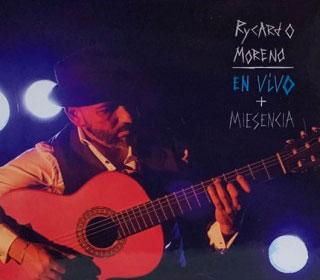"""Rycardo Moreno """"MIESENCIA"""" – CD+DVD"""