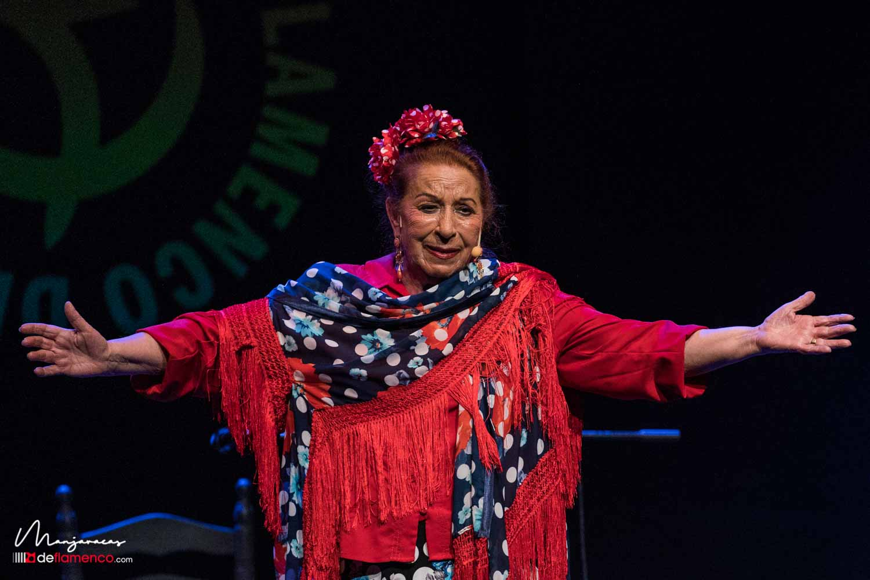 Cañeta de Málaga en el Círculo Flamenco de Madrid