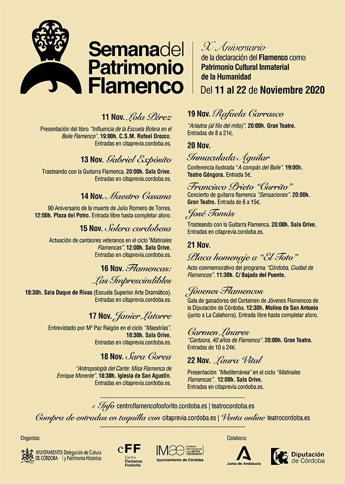 Semana del Patrimonio Flamenco Córdoba