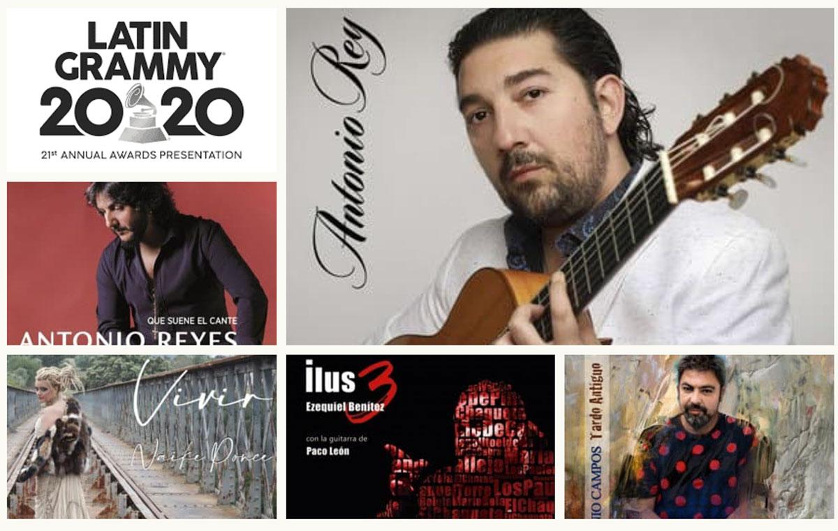 Antonio Rey, premio Latin Grammy 2020 al mejor albúm de música flamenca