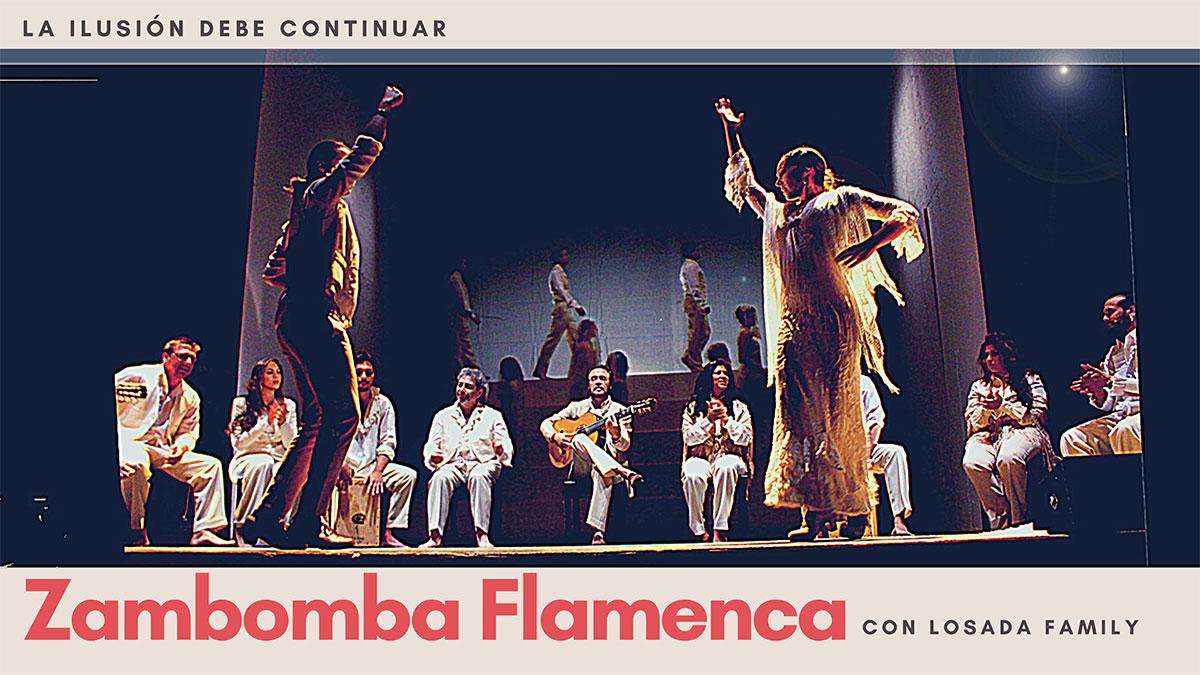 Zambomba Flamenca Teatro Cofidis Alcázar